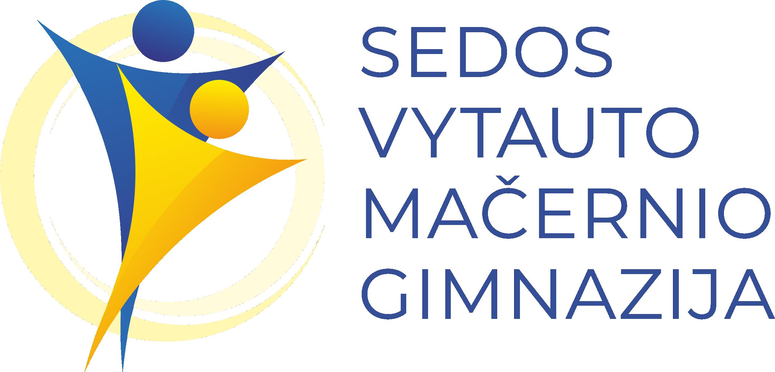 sedos VM gimnazina LOGOTIPAS 2021